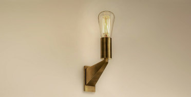 Handmade luxury wall light in pure brass | Human Heritage