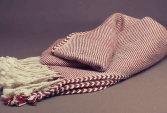 Baby alpaca blanket, handloomed technique, natural fibres | Human Heritage