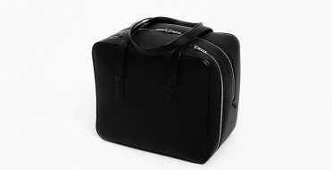 24h overnight leather travel bag, varnished finish, shockproof | Human Heritage