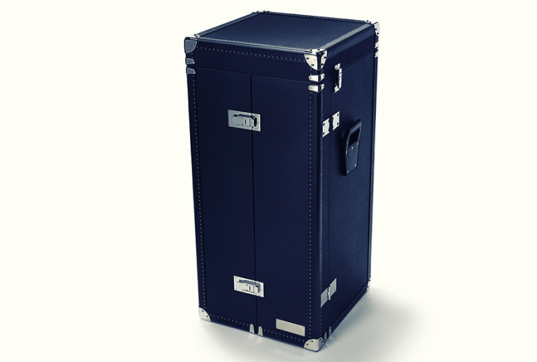 malle de voyage avec remontoir automatique montre cave cigares jeu de poker compartiment. Black Bedroom Furniture Sets. Home Design Ideas